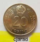 Moneda 20 Forinti - Ungaria 1989 *cod 1574 a.UNC