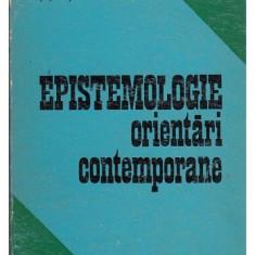Epistemologie: orientari contemporane Quine Popper Hintikka... / ed. Ilie Parvu