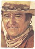 % carte postala-ACTORI SI INTERPRETI-John Wayne, Necirculata, Printata