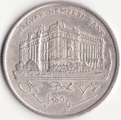 Republica Ungara - 200 Forint 1993 - Argint foto