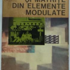 C. Dumitras, s.a. - Stante si matrite din elemente modulate (1980) - Carti Mecanica