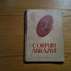 CORPURI ABRAZIVE - Uzina Carbochim Cluj - Catalog de prezentare