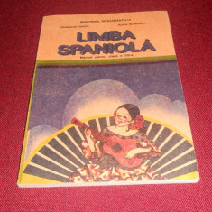 MANUAL LIMBA SPANIOLA CLASA VIII - Curs Limba Spaniola