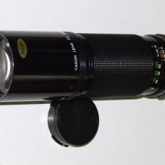 Obiectiv Canon FD n 300mm 1:5.6 - Transport gratuit prin posta! - Obiectiv DSLR Canon, Manual focus, Canon - EF/EF-S
