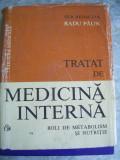 TRATAT DE MEDICINA INTERNA - BOLI DE METABOLISM SI NUTRITIE - PAUN