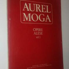 Aurel Moga - Opere alese Vol. I - 1986 - Carte Cardiologie