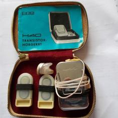 RADIO TRANZISTOR HORGERAT H40 RFT ,ANUL 1965
