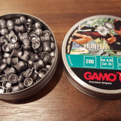 Pelete / alice aer comprimat Gamo Hunter Cal 6,35  - 21 lei