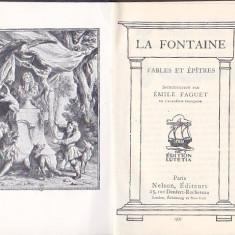 LA FONTAINE - FABLES ET EPITRES ( FR )