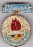 Insigna Pionier de Frunte - Distins cu Titlul Pionier de Frunte