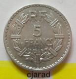 Moneda 5 Franci - Franta 1946 *cod 1636