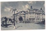 % carte postala-LUNA BUCURESTILOR 9 mai-9 iunie 1935-Piata Universitatii, Necirculata, Printata