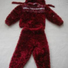 """""""Costum  de urs"""" de iarna pentru fetite"""
