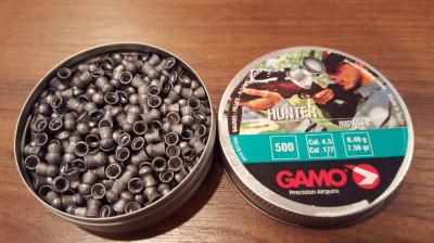Pelete / alice aer comprimat Gamo Hunter Cal 4,5  - 27 lei foto
