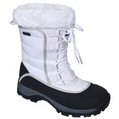 Cizme de iarna pentru femei (FAFOBOJ20001W) - Cizma dama Trespass, Culoare: Alb, Marime: 36, 37, 38, 39
