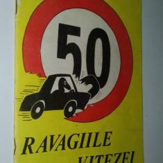 Brosura ADAS - anii '80 Ravagiile vitezei