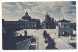 % carte postala-LUNA BUCURESTILOR 9 mai-9 iunie 1935-Piata Parlamentului, Necirculata, Printata