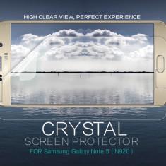 Folie Samsung Galaxy Note 5 N920 by Nillkin Transparenta - Folie de protectie Samsung, Lucioasa