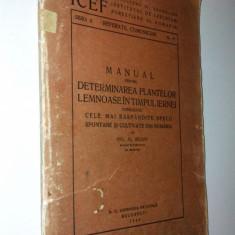 Manual pentru determinarea plantelor lemnoase in timpul iernei - 1945
