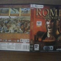 Joc PC - Rome Total War (GameLand) - Jocuri PC, Strategie, 12+