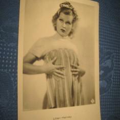 CARTI POSTALE VECHI. Artista Lilian Harvey- carte postala veche.