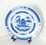 Farfurie colectie portelan - BLUE WILLOW - marcaj Jingdezhen Guang Ming China