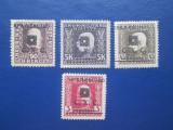 TIMBRE SARBIA 1919, Nestampilat