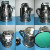 BRICHETE VINTAGE DE BIROU-MASA NR4. Bricheta de birou metal Cavaler Medieval - Bricheta de colectie