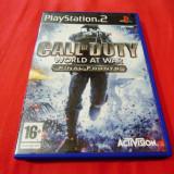 Joc Call of Duty World at War Final Fronts, PS2, original, alte sute de jocuri!