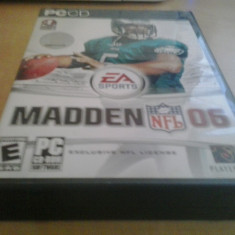 Joc PC Electronic Arts - Madden NFL 06 (BOX SET) (GameLand ), Sporturi, 3+, Single player