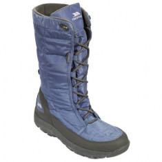 Cizme de iarna pentru dame Trespass Subedge Blueice (FAFOBOK20005ICE) - Cizma dama Trespass, Culoare: Albastru, Marime: 37