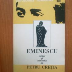 T Eminescu editat si comentat de Petru Cretia-Constelatia Luceaf.Sonet.Scris. - Carte poezie