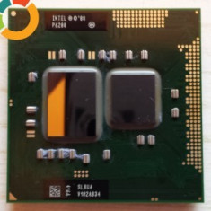 NTEL PENTIUM DUAL CORE P6200 2X 2.13GHZ/3MB socket G1 SLBUA ca i3/i5 - Procesor laptop