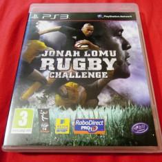 Joc Jonah Lomu Rugby Challenge, PS3, original, alte sute de jocuri! - Jocuri PS3 Altele, Sporturi, 3+, Multiplayer