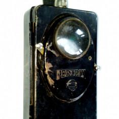 Lanterna militara de semnalizare Germana PERTRIX Nr. 667 cu lupa