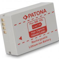 PATONA | Acumulator compatibil Canon NB 10L NB10L Powershot G15 G1X - Baterie Aparat foto PATONA, Dedicat