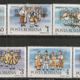 Romania.1986 Obiceiuri folclorice de Anul Nou  CR.722