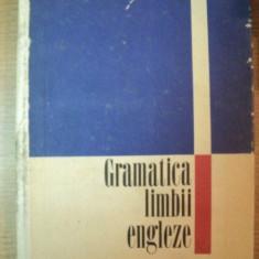 GRAMATICA LIMBII ENGLEZE de LEON LEVITCHI, Bucuresti 1971 - Carte in alte limbi straine