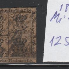 Braunschweig - state germane - mi nr 9 - 1857 - stampilat