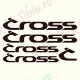 Set Bicicleta - Cross_Sticker_Bike_Cod:SET-040