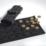 Textile Monede-Rolle pentru 24 monede sau Quadrumcapsel