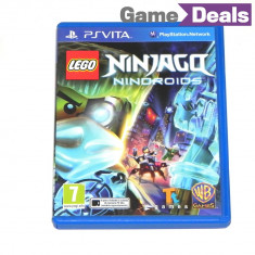 Lego Ninjago Nindroids PS Vita / PSVita [GameDeals] - Jocuri PS Vita, Actiune, 3+, Single player