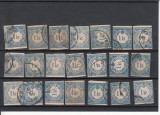 UNGARIA 1868-1878, LOT MARCI PORTO, STAMPILATE, LOT 2 ST, Stampilat