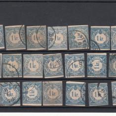 UNGARIA 1868-1878, LOT MARCI PORTO, STAMPILATE, LOT 2 ST, Stampilat