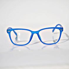 Rame de ochelari de vedere Ray Ban RB7284 col14 - Rama ochelari Ray Ban, Unisex, Transparent, Dreptunghiulare, Plastic, Rama intreaga