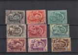 UNGARIA 1950, LOT 10 TIMBRE,STAMPILATE,LOT 1 ST, Stampilat