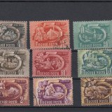 UNGARIA 1950, LOT 10 TIMBRE, STAMPILATE, LOT 1 ST
