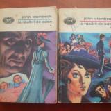 JOHN STEINBECK, LA RASARIT DE EDEN, 2 VOLUME, B.P.T. - Roman