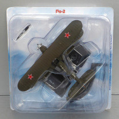 Avion Polikarpov Po-2, Avioane De Legenda - DeAgostini Rusia - Macheta Aeromodel