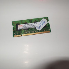 Memorie RAM laptop SODIMM DDR2 1GB Hynix ( DDR 2 1 GB notebook ) (BO386), 667 mhz